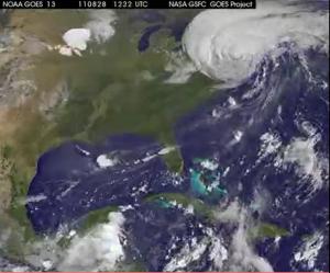 Hurricane Leo-End